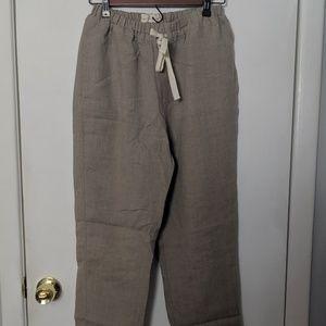 NPL Loose linen ATHENS pants